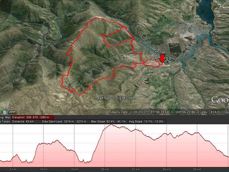 Mt Difficulty Ascent Extreme Marathon: 11th June 2016