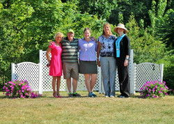 Our fabulous crew from Oyster River Dressage 2016