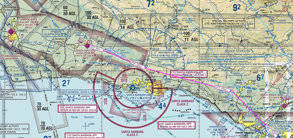 Dealing with Military Training Routes (MTRs) in the US airspace