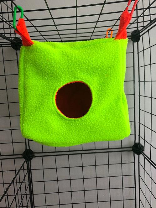 Cubo talla S verde fluorescente
