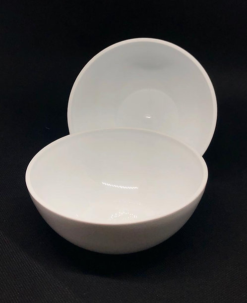 Base redonda blanca