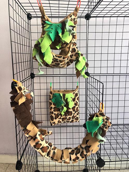 Mini set jungla/leopardo