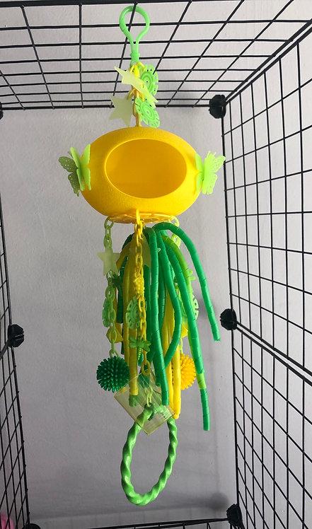 juguete cueva amarillo