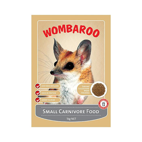 Small carnivore food Wombaroo