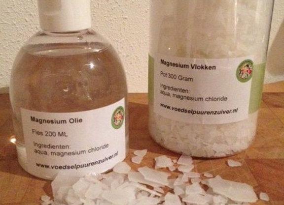 Magnesium(chloride) vlokken 500 gram