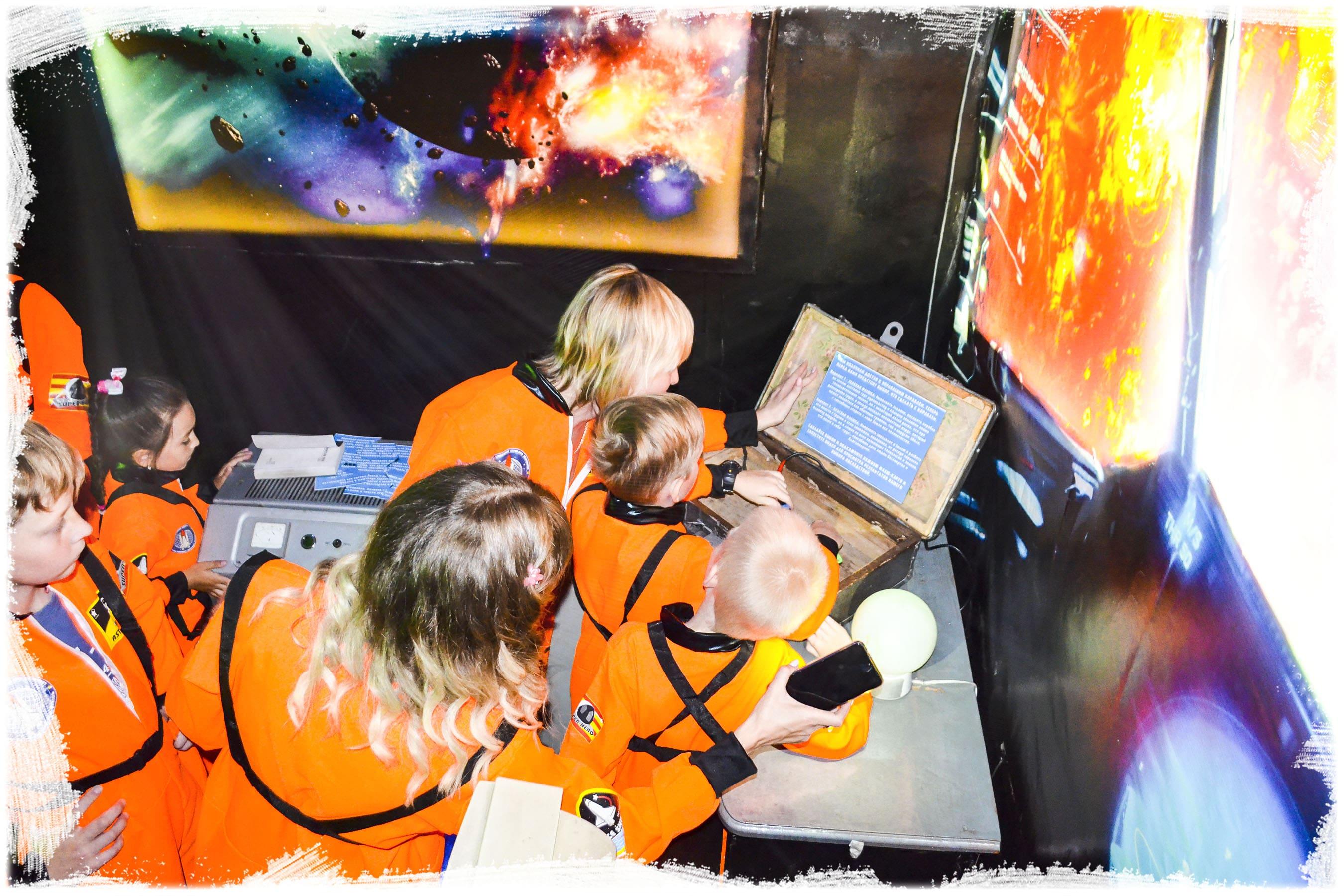 Квест космический корабль Ангарск (2)