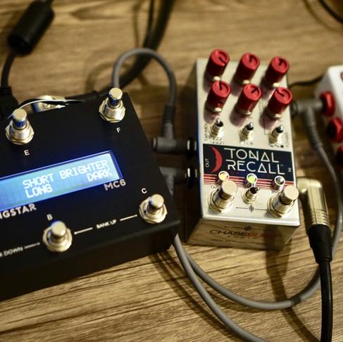 Chase Bliss Audio Tonal Recall & MC6 Midi Controller