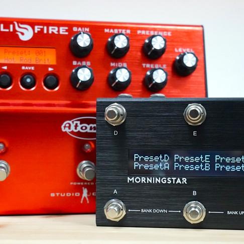 Atomic AmpliFire & MC6 Midi Controller