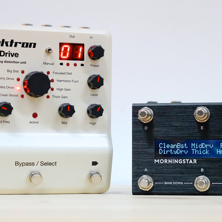Elektron Analog Drive & Morningstar MC6 Midi Controller