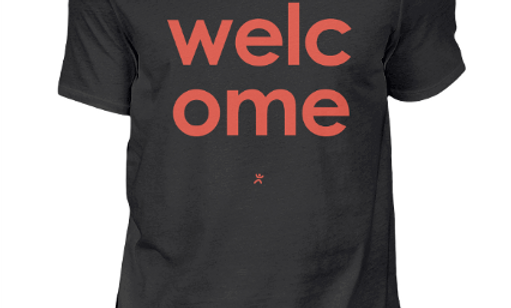T-shirt - Welcome