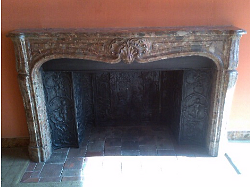 Grande Cheminée ancienne LOUIS XV
