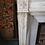 Thumbnail: Grande Cheminée ancienne de style LOUIS XVI en marbre blanc
