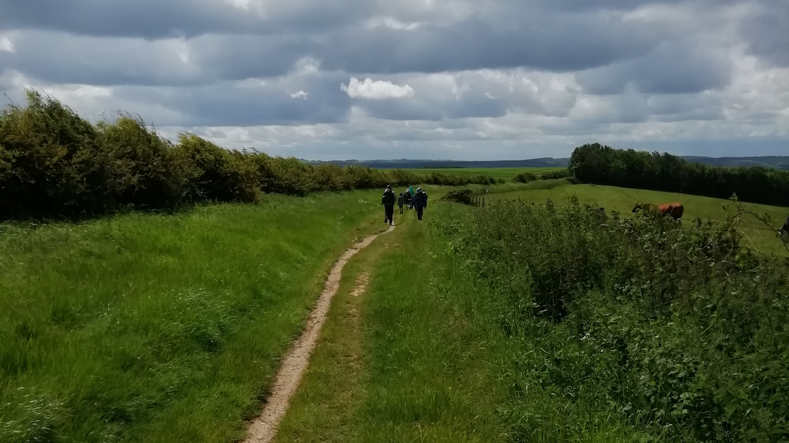Hiking the Ridgeway