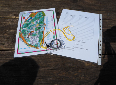 Young Worting Scouts came second in the District Orienteering competition!