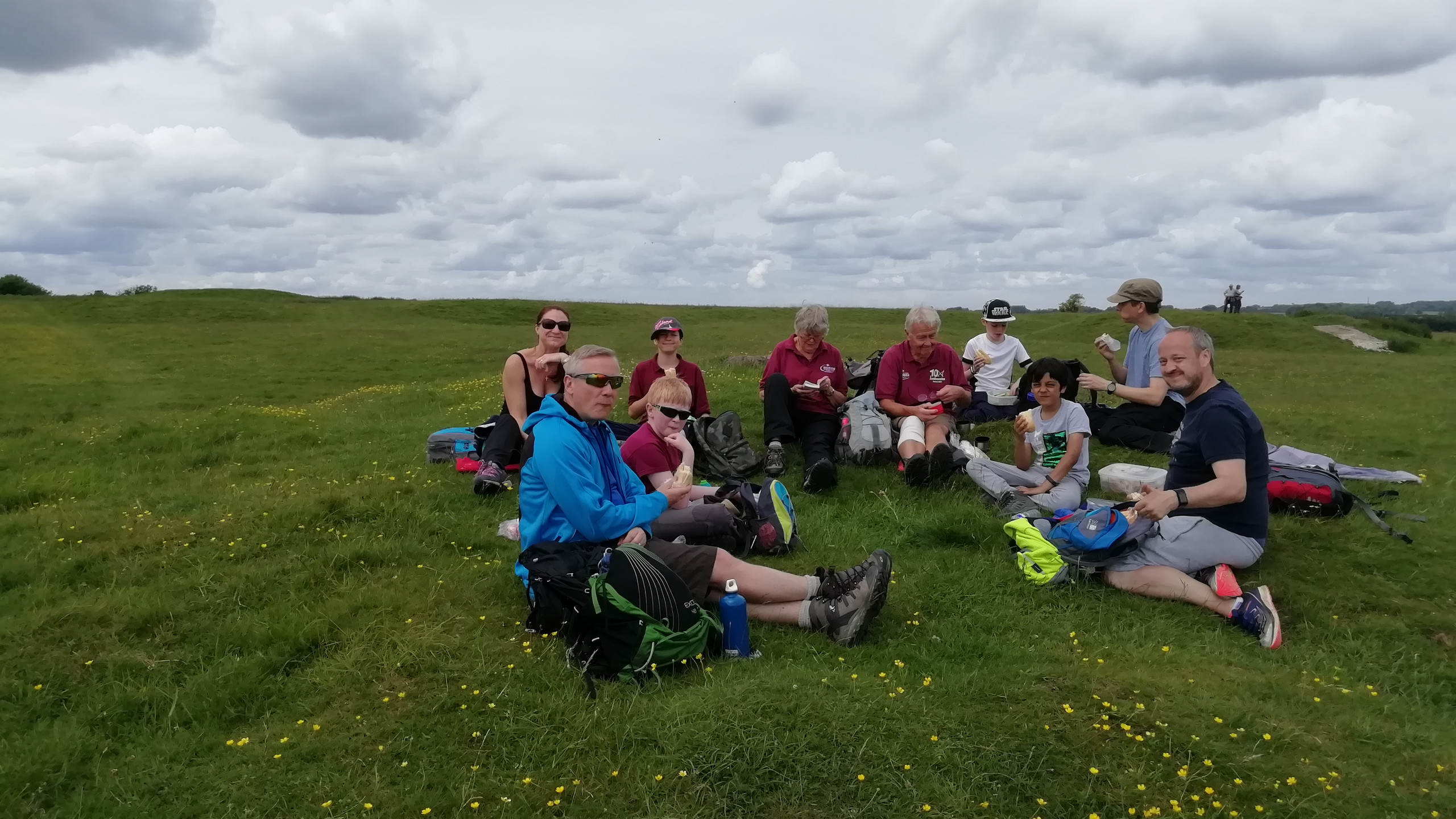 Lunch on Windmill Hill