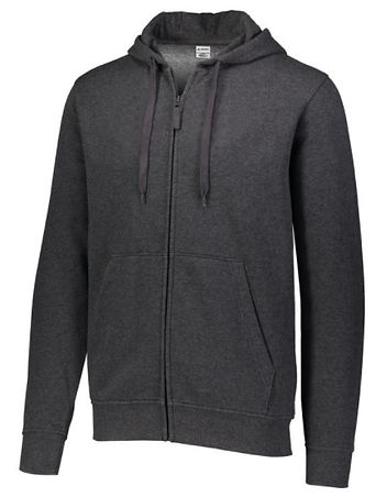 BLANK - Zip Hooded Top (CHARCOAL).jpg