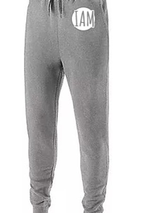 CASUAL (Ladies) Jogger Sweat Pants (Heather/Black/Carbon)