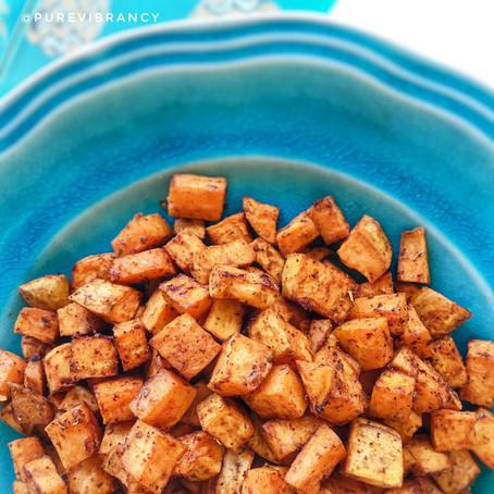 Smoky Roasted Sweet Potatoes