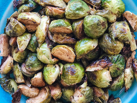Rockin' Roasted Brussels Sprouts