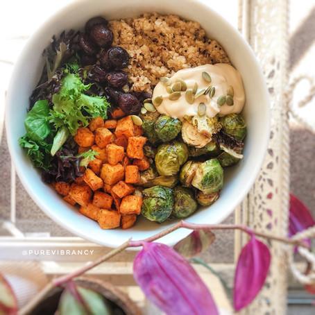 Vibrant Vegan Buddha Bowl
