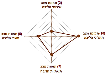 תמהיל המדדים המשולבים של הליבה - רמה 2.p