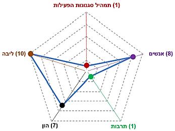 תמהיל המדדים המשולבים של החוסן - רמה 1.p