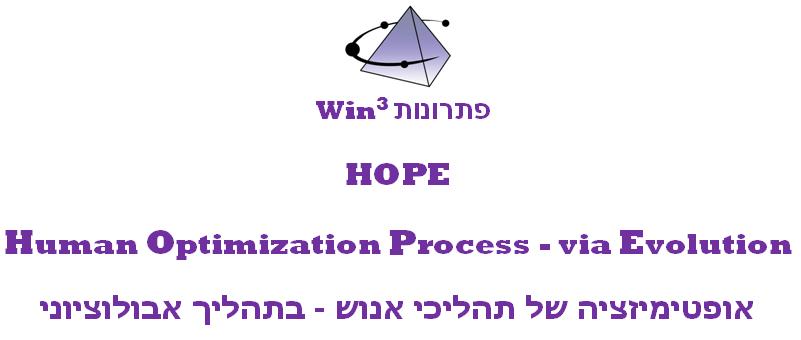 HOPE - Human Optimization Process