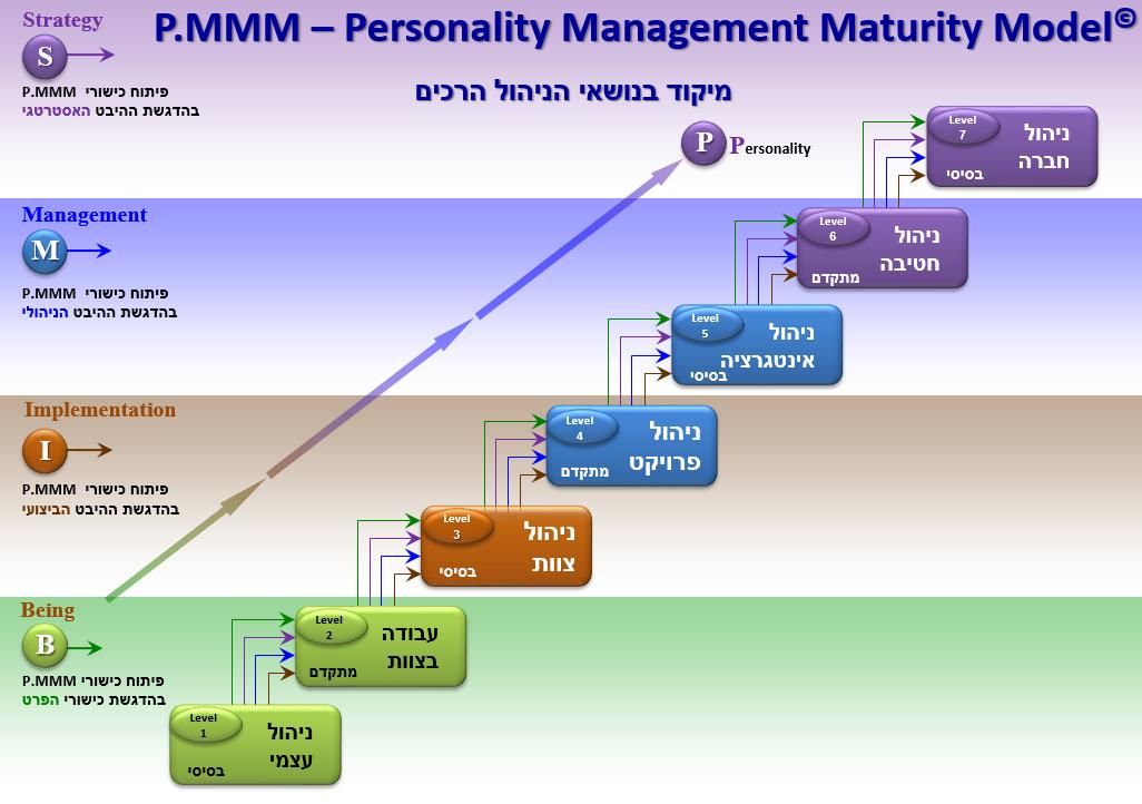 מודל הבשלות הניהולית - P.MMM