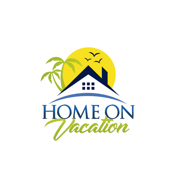 Home on vacation logo