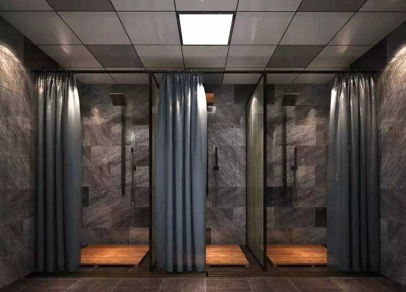 Fitness Decoration Bath Room Design
