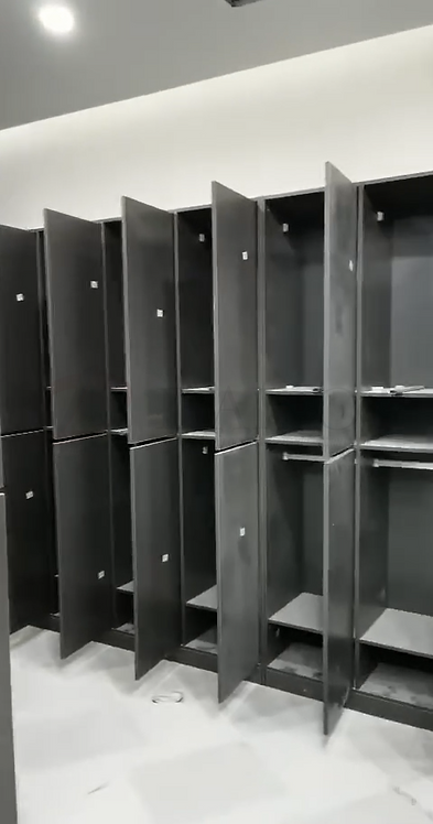 Dailot Furniture Grey Color Gym Lockers