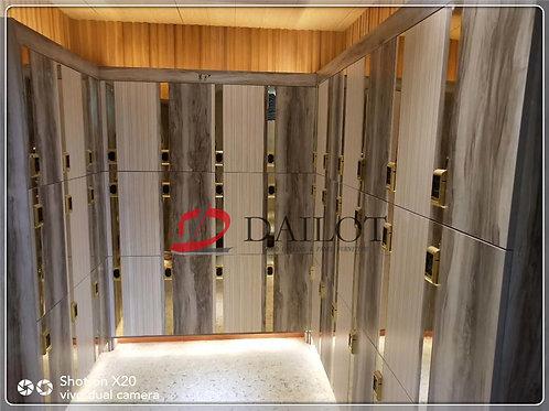 Luxury Design Gym Lockers Wood with Digital Lock