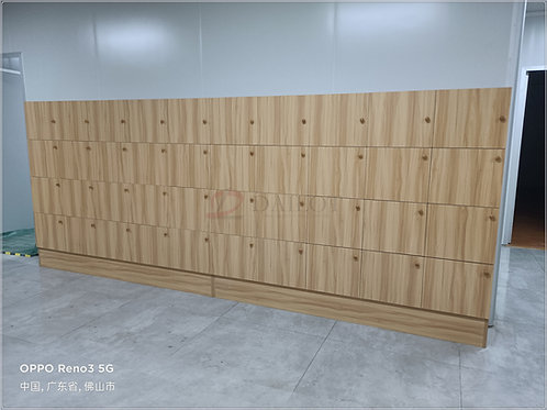 Wooden Staff Lockers for Factory Group Company