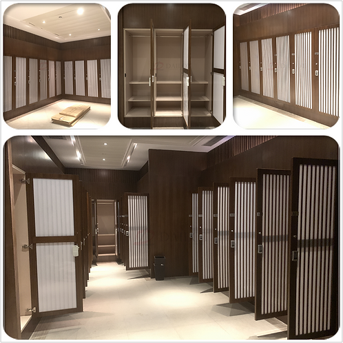 Golf Club Wood Lockers with Password Electronic Lock