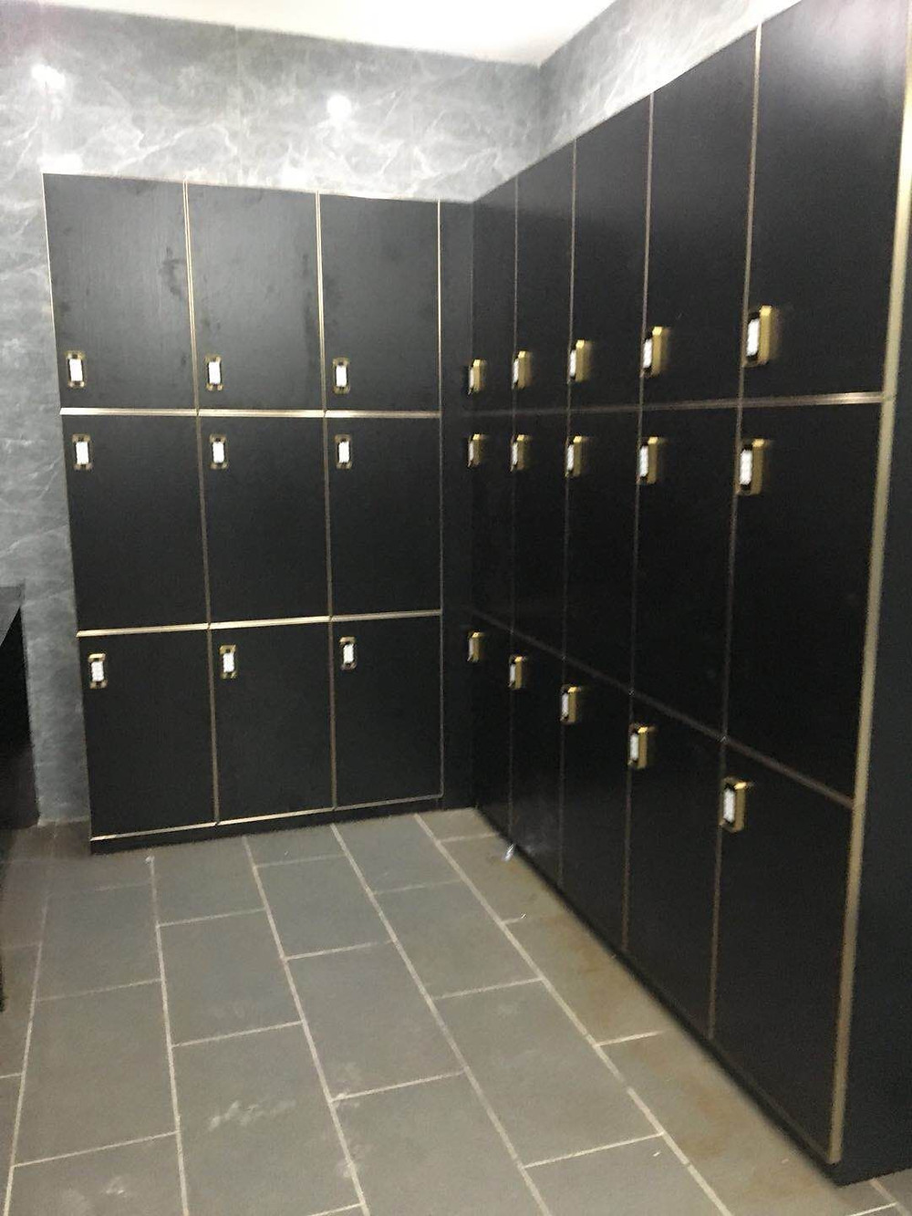 wood lockers maintenance