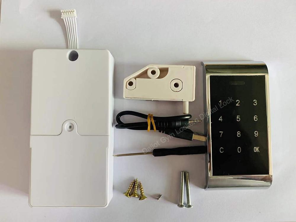 Dailot Gym Lockers Digital Lock password