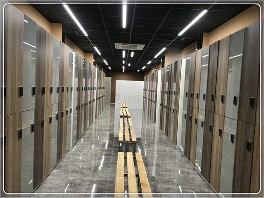 How to maintenance the wood lockers with doors