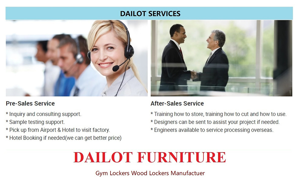 Dailot Furniture Lockers Factory Direct