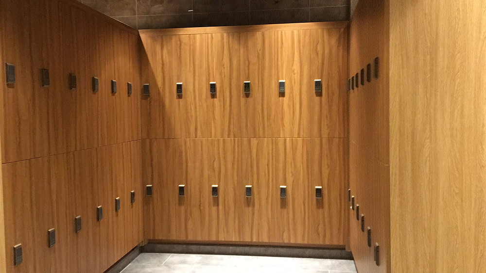 Dailot wood lockers can be flexible designed to match your project