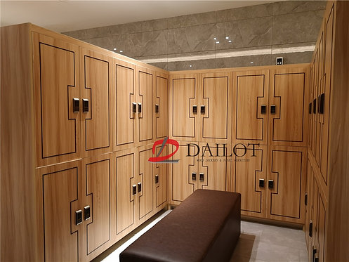 Luxury Gym Lockers Wood Lockers