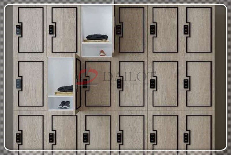 Dailot gym lockers for staff