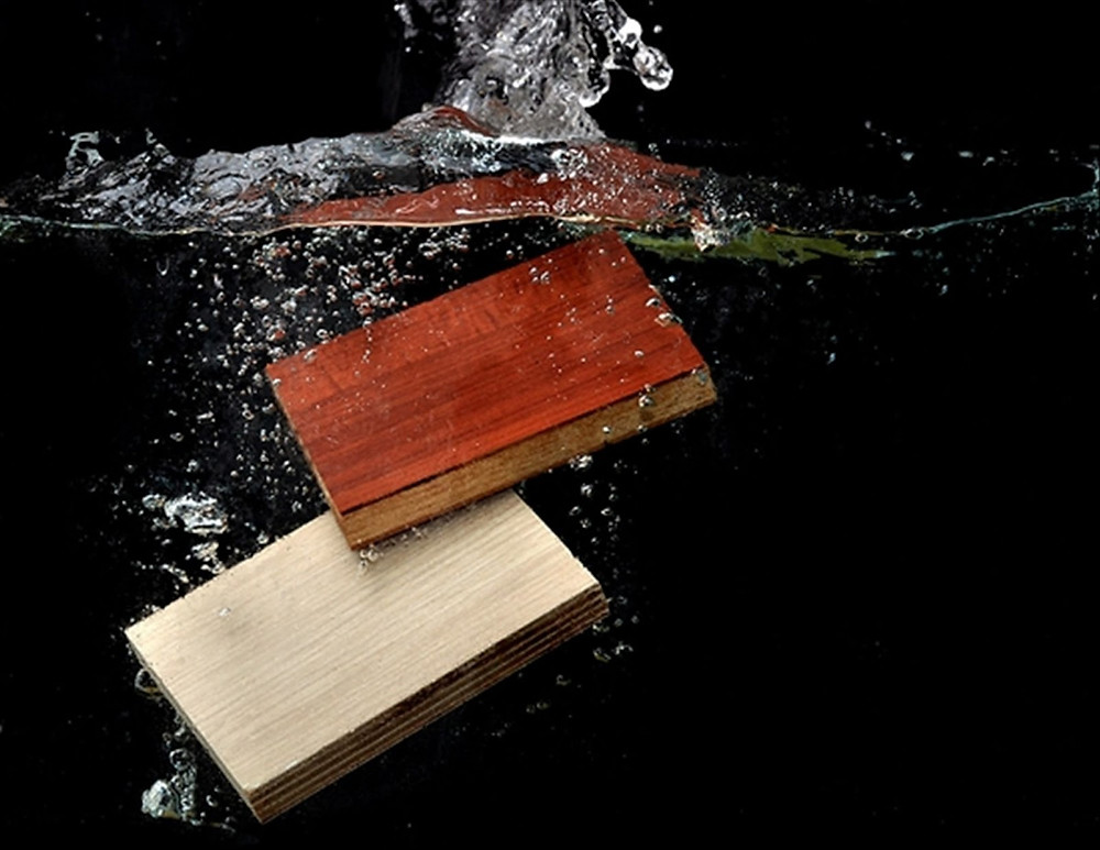 Plywood is a materials with high moisture resistant, can be widely used in bathroom cabinet and kitchen cabinets