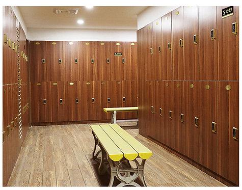 Custom Wooden Gym Lockers