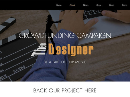 Check out our CROWDFUNDING CAMPAIGN for Thee Designer Movie