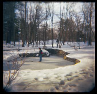 Chris on a Frozen Pond