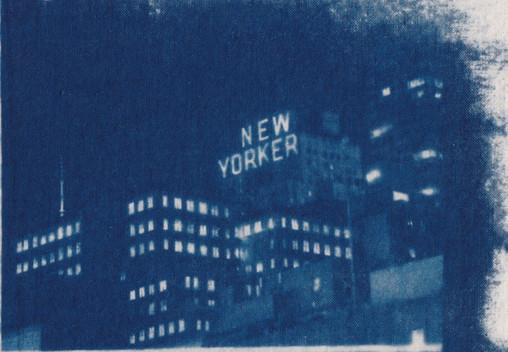 New Yorker Cyanotype