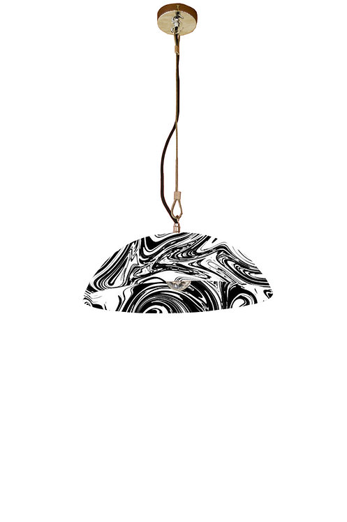 BESPOKE OPTION, Marbled Spun Pendant Light