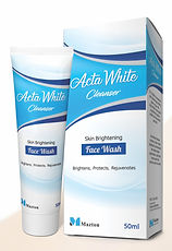Acta White Cleanser Face Wash