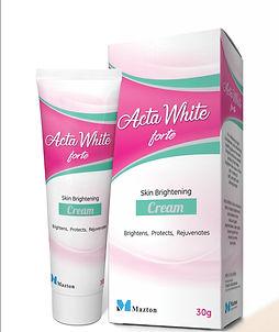 Acta White Skin Brightening Cream