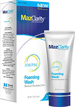 MazClarity, regimine for Acne.